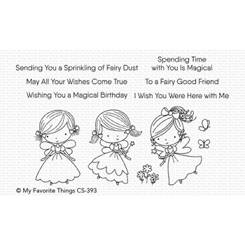 My Favorite Things FAIRY GOOD FRIENDS Clear Stamps CS393