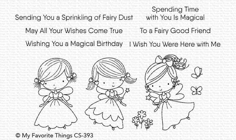 My Favorite Things FAIRY GOOD FRIENDS Clear Stamps CS393 zoom image