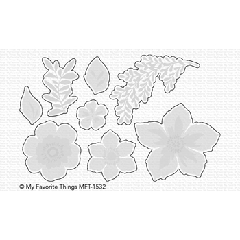 My Favorite Things TROPICAL FLOWERS Die-Namics MFT1532