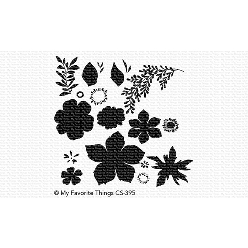 My Favorite Things TROPICAL FLOWERS Clear Stamps CS395 Preview Image