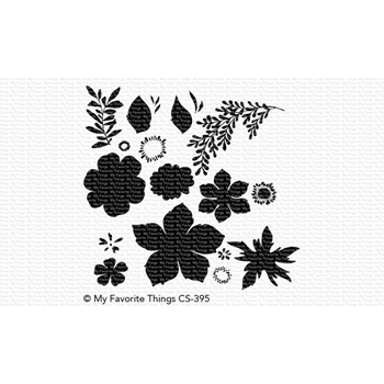My Favorite Things TROPICAL FLOWERS Clear Stamps CS395