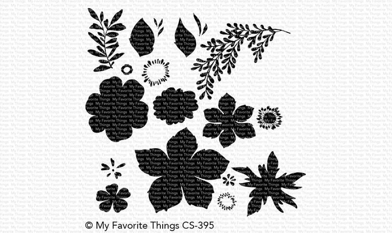 My Favorite Things TROPICAL FLOWERS Clear Stamps CS395 zoom image