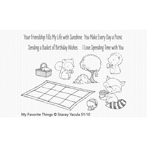 My Favorite Things PICNIC PALS Clear Stamps SY10 Preview Image