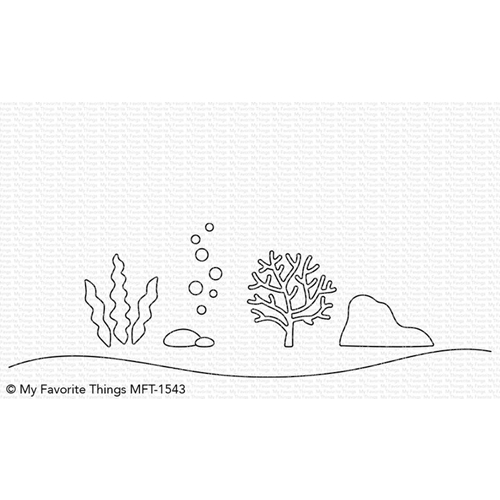My Favorite Things UNDER THE SEA Die-Namics MFT1543 Preview Image