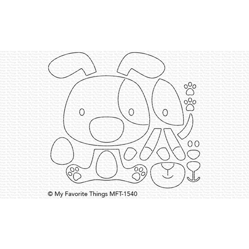 My Favorite Things PUPPY LOVE Die-Namics MFT1540 Preview Image