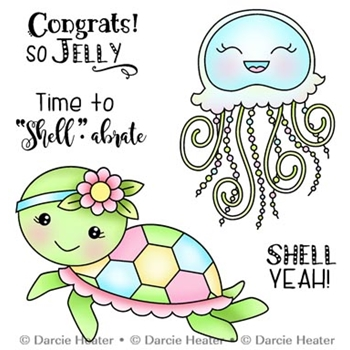 Darcie's SO JELLY Clear Stamp Set pol435