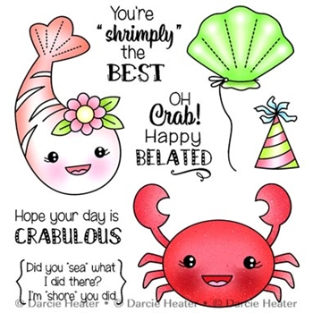 Darcie's CRABULOUS Clear Stamp Set pol437