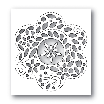 Simon Says Stamp FILIGREE FLOWER Wafer Die s650 Rest and Refresh