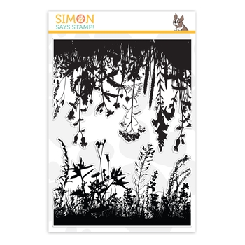 Simon Says Clear Stamps WILDFLOWERS sss201998 Rest and Refresh