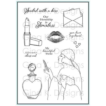 Gina K Designs TIMELESS BEAUTY Stamp Set 1302