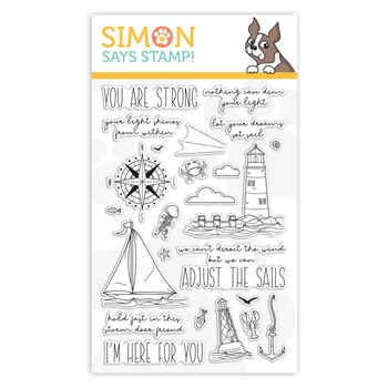 Simon Says Clear Stamps YOUR LIGHT sss101999 Rest and Refresh