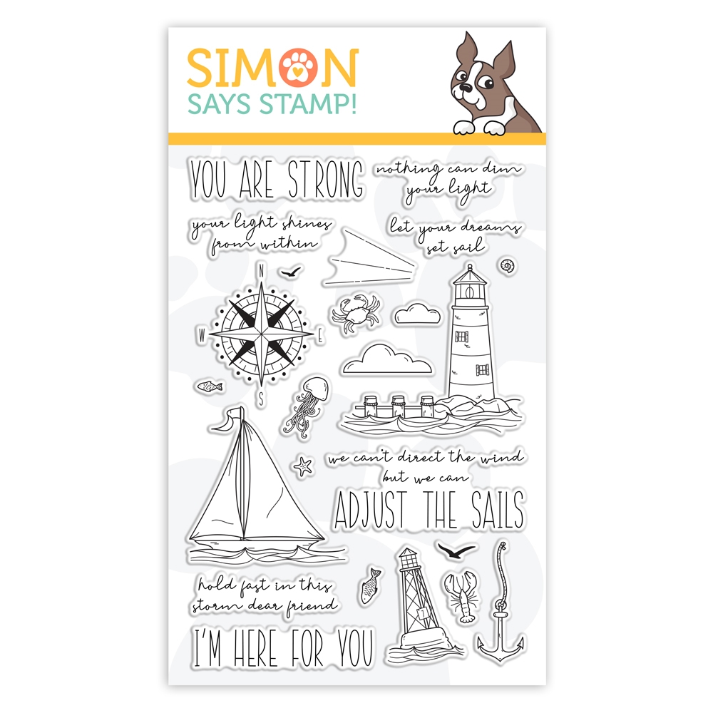 Simon Says Clear Stamps YOUR LIGHT sss101999 Rest and Refresh zoom image