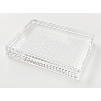 Gina K Designs LARGE RECTANGLE 3x4 INCH Comfort Acrylic Block 1227