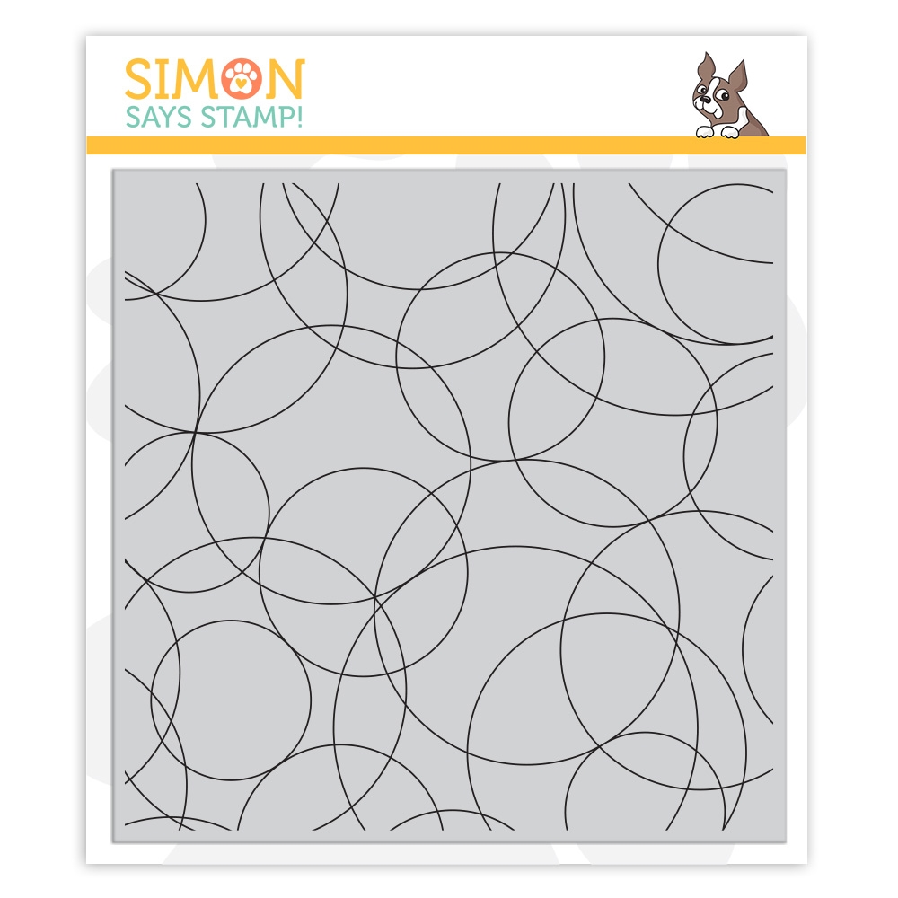 Simon Says Cling Stamp ROUND AND ROUND BACKGROUND sss101985 Rest and Refresh zoom image
