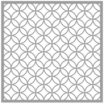 Gina K Designs ART DECO Stencil 0978