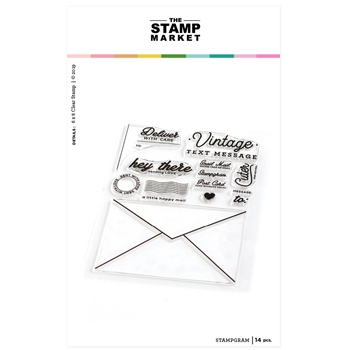The Stamp Market STAMPGRAM Clear Stamp Set tsm118