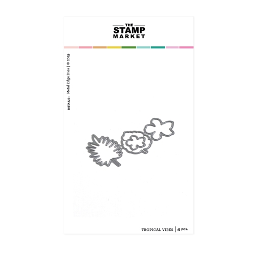 The Stamp Market TROPICAL VIBES Die Set tsm2103 Preview Image