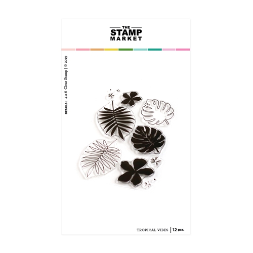 The Stamp Market TROPICAL VIBES Clear Stamp Set tsm120 Preview Image