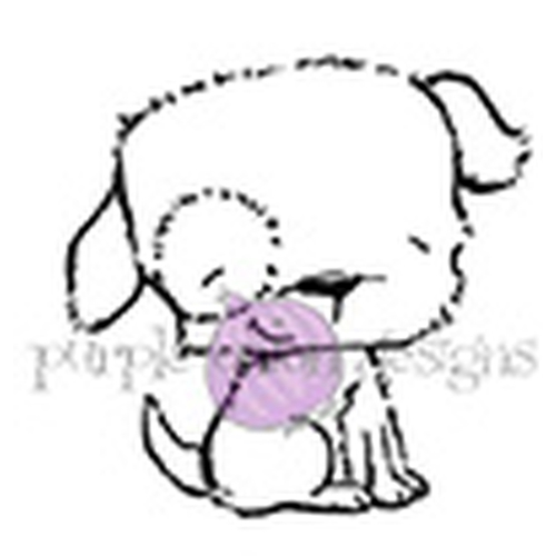 Purple Onion Designs PUDDLES Cling Stamp pod1057 Preview Image