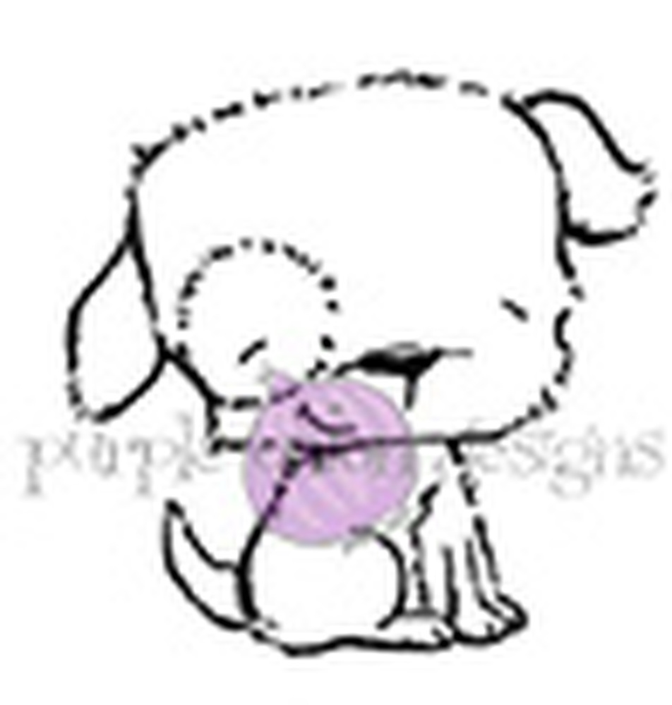 Purple Onion Designs PUDDLES Cling Stamp pod1057 zoom image