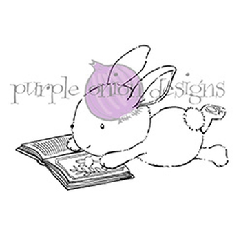 Purple Onion Designs ZOEY Cling Stamp pod1072