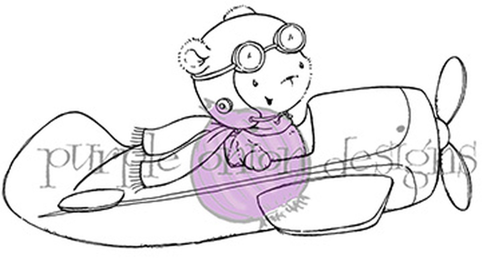 Purple Onion Designs T-BIRD Cling Stamp pod1080 zoom image