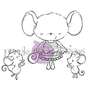 Purple Onion Designs SWEETS Cling Stamp pod1087