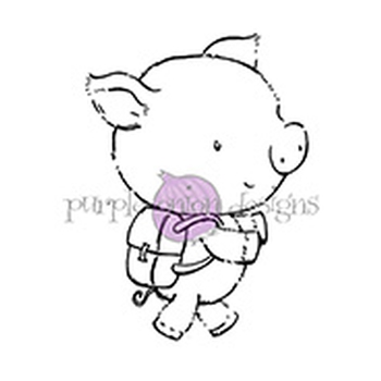 Purple Onion Designs PEARL Cling Stamp pod1088