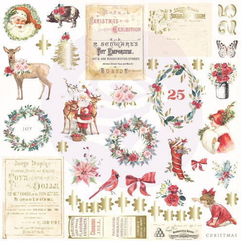 Prima Marketing CHRISTMAS IN THE COUNTRY Ephemera 995348 Preview Image