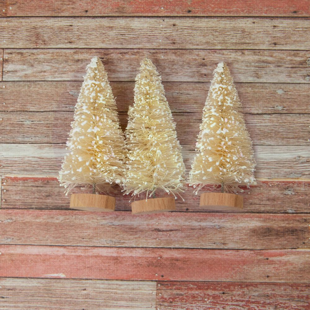 Prima Marketing CHRISTMAS IN THE COUNTRY Sisal Trees 995386 zoom image