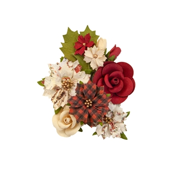 Prima Marketing CHRISTMAS SONG Christmas In The Country Flowers 642464