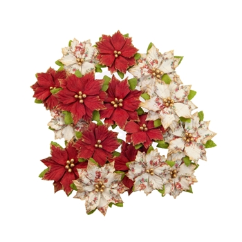 Prima Marketing KRIS KRINGLE Christmas In The Country Flowers 642495