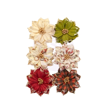 Prima Marketing WARM MITTENS Christmas In The Country Flowers 642501