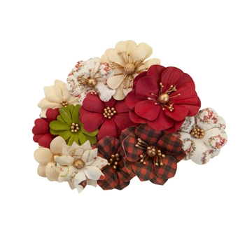 Prima Marketing ST. NICK Christmas In The Country Flowers 642525