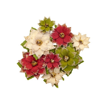Prima Marketing TIDINGS Christmas In The Country Flowers 642563