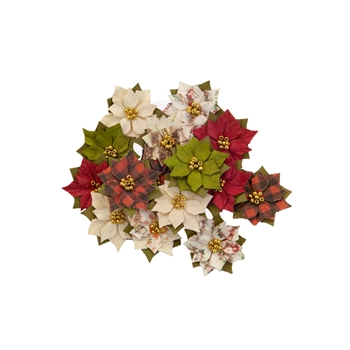 Prima Marketing WINTER WONDERLAND Christmas In The Country Flowers 642570