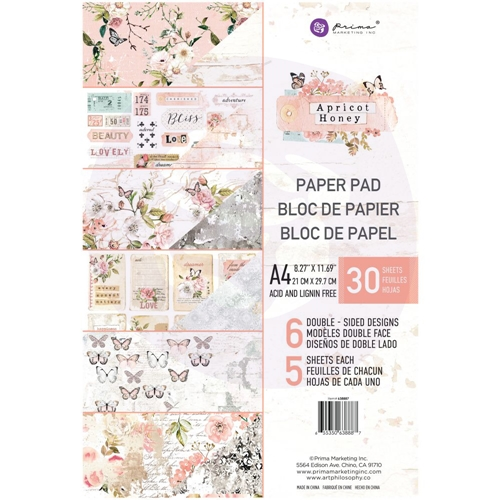 Prima Marketing A4 Paper Pad APRICOT HONEY 638887 Preview Image