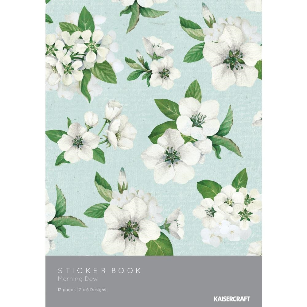 Kaisercraft MORNING DEW Sticker Book SK809 zoom image