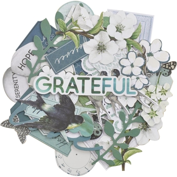 Kaisercraft MORNING MIST COLLECTABLES Die Cut Shapes CT963