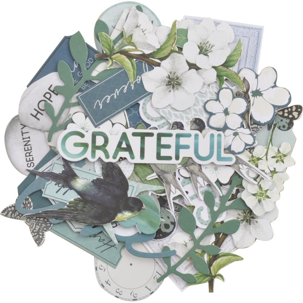 Kaisercraft MORNING MIST COLLECTABLES Die Cut Shapes CT963 zoom image