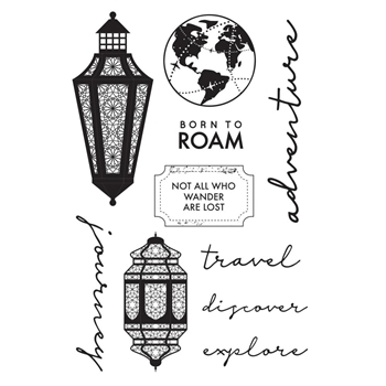 Kasiercraft JOURNEY Clear Stamps CS355
