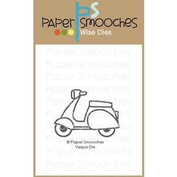 Paper Smooches VESPA Wise Die J2D445