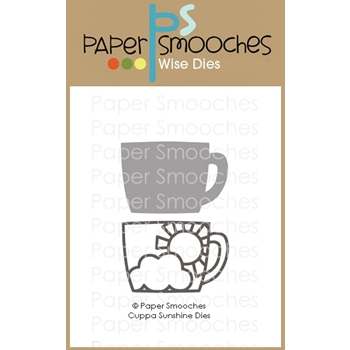 Paper Smooches CUPPA SUNSHINE Wise Dies J2D441