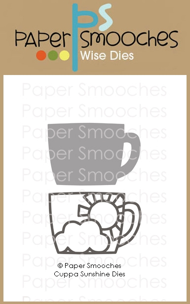 Paper Smooches CUPPA SUNSHINE Wise Dies J2D441 zoom image