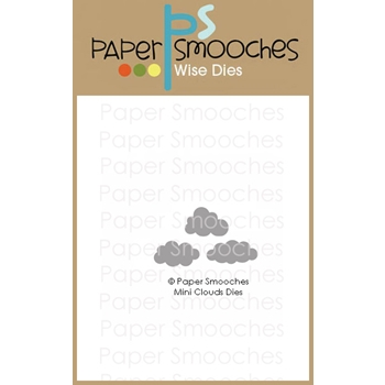 Paper Smooches MINI CLOUDS Wise Dies J2D442