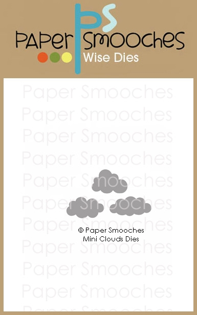Paper Smooches MINI CLOUDS Wise Dies J2D442 zoom image