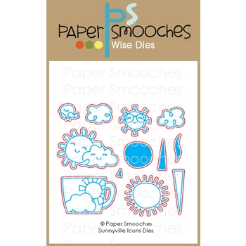 Paper Smooches SUNNYVILLE ICONS Wise Dies J2D444