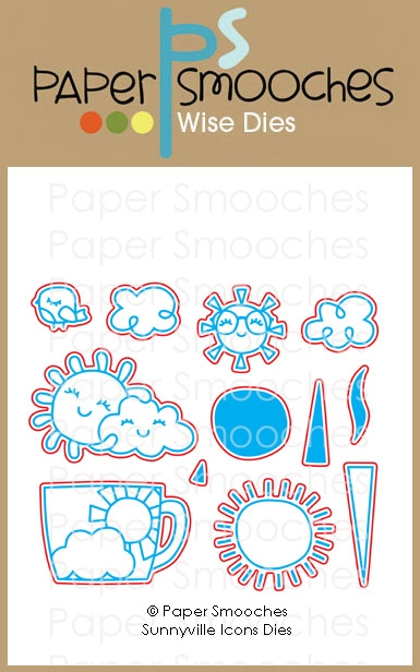 Paper Smooches SUNNYVILLE ICONS Wise Dies J2D444 zoom image