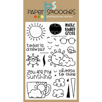 Paper Smooches SUNNYVILLE Clear Stamps J2S308