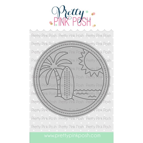 Pretty Pink Posh BEACH SCENE Dies  Preview Image